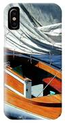 Wooden Sailboat 1 IPhone Case