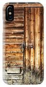 Wooden Slats Barn IPhone Case