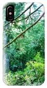Woodland And Huge Tree Illustration IPhone Case