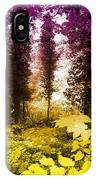 Woodland Color IPhone Case