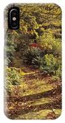 Woodland Path, Mount Stewart, Ards IPhone Case