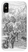 Wounded Knee, 1890 IPhone Case