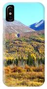 Wrangell Mountains Colors IPhone Case