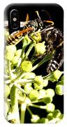 Wrangling Wasps IPhone Case