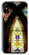 Wrc Stained Glass Window IPhone Case
