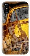 Wreck On The Information Highway IPhone Case