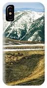 Wyoming Road IPhone Case