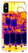 X-ray Of Mechanical Fish IPhone Case