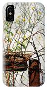 Yard Of The Hippies  IPhone Case