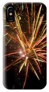 Yellow And Red Fireworks IPhone Case