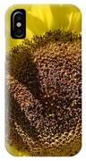 Yellow Autumn Sunflower IPhone Case