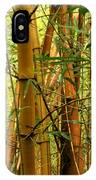 Yellow Bamboo IPhone Case