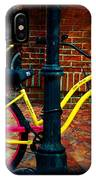 Yellow Bike IPhone Case