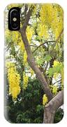Yellow Cascades IPhone Case