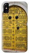 Yellow Door In Bardo IPhone Case