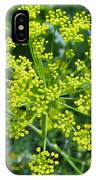 Yellow Firework Or Dill In Its Glory IPhone Case