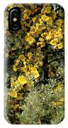 Yellow Flowers On Tree IPhone Case