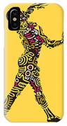 Yellow Haring IPhone Case
