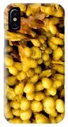 Yellow Kelp Pods IPhone Case