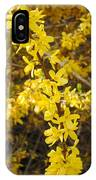 Yellow Strand IPhone Case