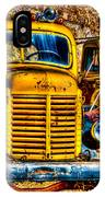 Yellow Trucks IPhone Case