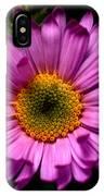 Yoho - Subalpine Fleabane Wildflower  IPhone Case