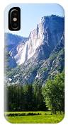 Yosemite Falls From The Ahwahnee IPhone Case