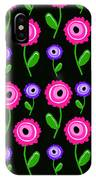 Young Florals  IPhone X Case