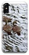 Young Geese IPhone Case