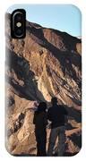 Zabriske Sunrise Watchers IPhone Case