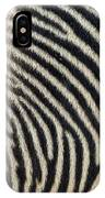 Zebra Caboose IPhone Case