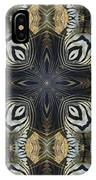Zebra Cross II IPhone Case