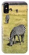 Zebra Grub IPhone Case