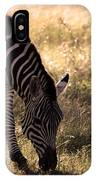Zebra Take One IPhone X Case
