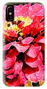 Zinnia Blast IPhone Case