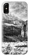 Zion Canyon - Bw IPhone Case