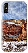 Zion Canyon In Utah IPhone Case
