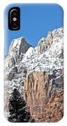Zion Towers IPhone Case