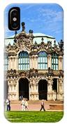 Zwinger Palace - Dresden Germany IPhone Case