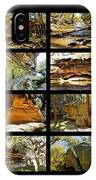 ' Australia Rocks ' - The Dripping Gorge - New South Wales IPhone Case