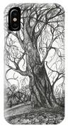 Autumn Dancing Tree IPhone Case