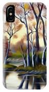 Birch Bay Lagoon Dreamy Mirage IPhone Case