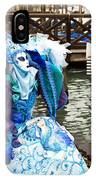 Blue Angel 2015 Carnevale Di Venezia Italia IPhone Case