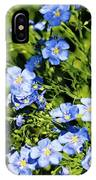 Blue Flax IPhone Case