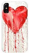 Broken Heart - Bleeding Heart IPhone Case