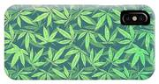 Cannabis   Hemp  420   Marijuana  Pattern IPhone Case