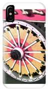 Circus Wagon Wheel IPhone Case
