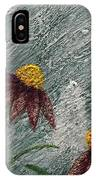 Flowers In The Breeze IPhone Case