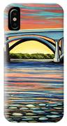 Folsom Bridge IPhone Case