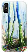 Forest Of Divine Light IPhone Case